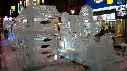 Sapporo Ice Festival | © David McKelvey via Flickr