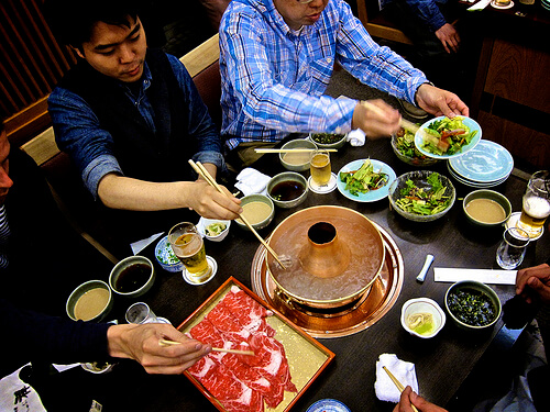 Sharing Shabu Shabu | © A Continuous Lean via Flickr