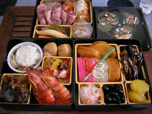 Osechi Box of Food | © jetalone via Flickr