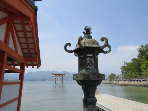 The Red Torii Gate at Miyajima | © Japan Trip