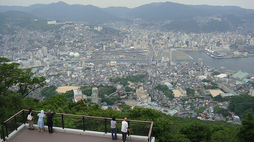 View Over Nagasaki | © David McKelvey via Flickr