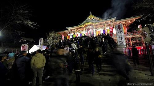 Hatsumode crowds in Tokyo | © Danny Choo via Flickr