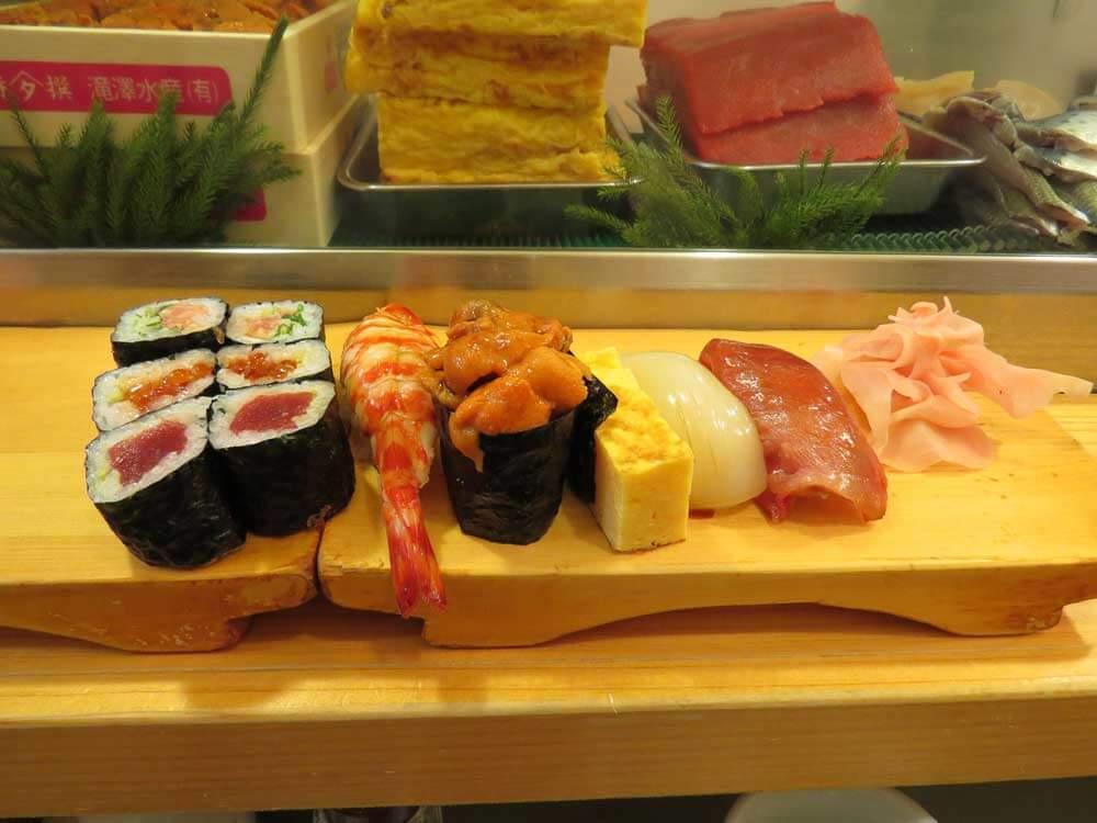 Sushi Selection | © Japan Trip